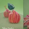 Pumpkin and Leaf Placecard Holders
