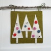 Aleenes Wool Felt Christmas Trees Wall Art