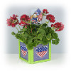 4th of July Planter