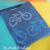 How to Make a Bicycle Themed Stamp from Craft Foam