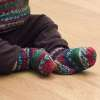 Knit Baby Holiday Socks