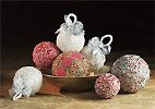 Beaded Crystal Christmas Ornaments