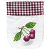 Cherries Cross Stitch Tea Bag