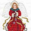 Christmas Angel Cross Stitch 8 Days til Christmas: Favorite Angel Craft Project and a Giveaway