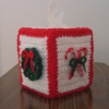 Boutique Christmas Tissue Box Cover