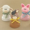 Clay Pot Farm Animals th New Year, New Home: 653 DIY Home Decorating Projects