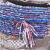 Crocheted 4th of July Purse