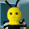 Cute Crochet Bee