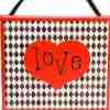 Diamond Love Wall Hanging