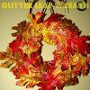 Fall Glitter Wreath