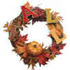 Changing Leaves and Holiday Wreaths