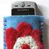 Felted Flower Cell Phone Case