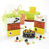 Halloween Candy Corn Invite and Party Favor Set