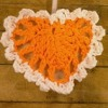 Mini Crochet Heart Ornament