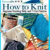 How to Knit Beginner Knitting Help and 7 Free Patterns