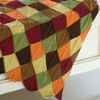 Knit Autumn Leaves Afghan