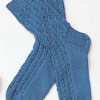Knit Cable Socks for Men