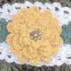 Marigold Crochet Pin
