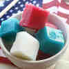 Patriotic Bath Scrubs
