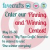 Announcing Pinning and Winning with FaveCrafts