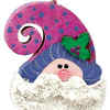 Bearded Santa Claus Ornament