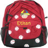 Boy's Titled Baseball Backpack