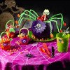 Bright and Bold Halloween Table Decorations
