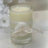 How to Make a Button Candle Wedding Favor