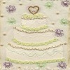 Wedding Cake Quilt Block