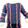 Childrens Cord Sweater
