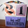 Count Down to Halloween with Colorful Blocks