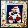 Christmas Decoupage Picture Frame