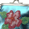 Flowered Coin Purse