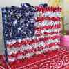 Grand Old Flag Home Decor Craft