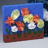 kids punch art flower garden