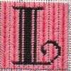 Letter L Needlepoint Stitch