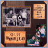 Our Family 03 Scrapbook Page