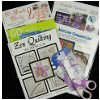 Collection of Quilting Books Patterns and Westcott Scissors Giveaway