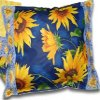Sunflower Paper Napkin Pillow