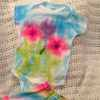 Tie Dye Baby Onesie and Skirt
