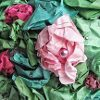 Tissue Paper Flowers for Topiary