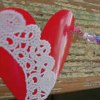 How to Make a Plastic Cup Heart Garland