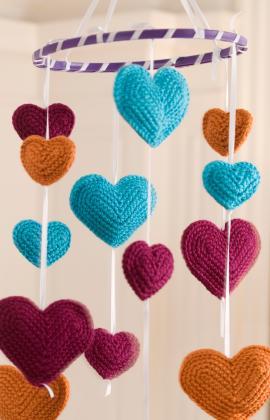 Hooded Crochet Baby Poncho Crochet Pattern | Red Heart