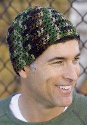 Free Printable Crochet Hat Patterns For Beginners : Beginner Crochet Cap FaveCrafts.com