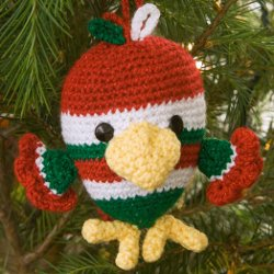 Holiday Bird Ornament