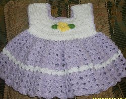 Infant Sacque - Baby Clothes - Free Crochet Pattern