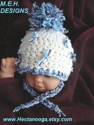 Free Crochet Pattern Baby Pom Pom Hat : CROCHET RIBBED PREEMIE HAT ? Only New Crochet Patterns