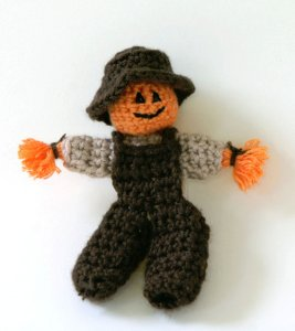Crochet Scarecrows