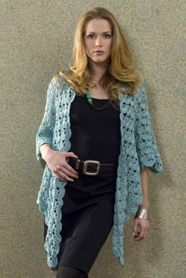 Amazon.com: crochet sweater coat patterns