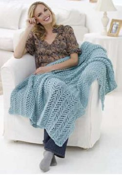 arrowhead lace knitting pattern